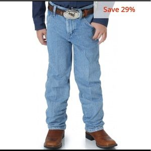 Wrangler Stonebleach Pro-Rodeo Competition Jeans